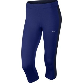 spodnie do biegania damskie 3/4 NIKE DRI-FIT ESSENTIAL CAPRI / 645603-457