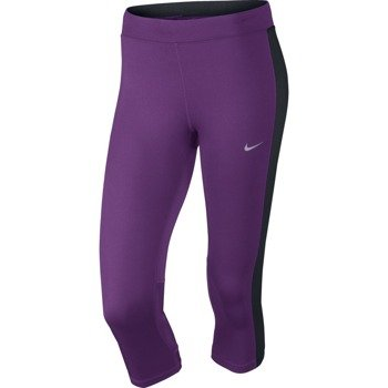 spodnie do biegania damskie 3/4 NIKE DRI-FIT ESSENTIAL CAPRI / 645603-513