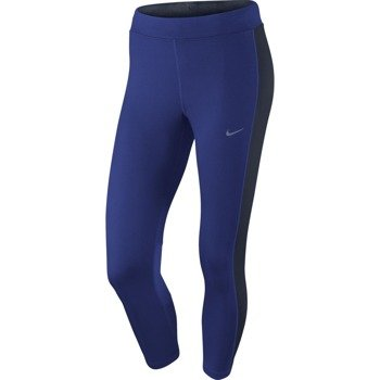 spodnie do biegania damskie 3/4 NIKE DRI-FIT ESSENTIAL CROP / 667623-457