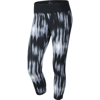 spodnie do biegania damskie 3/4 NIKE PRINTED EPIC RUN CROP / 618449-010