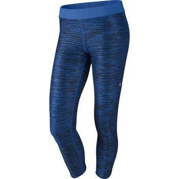 spodnie do biegania damskie 3/4 NIKE PRINTED RELAY CROP / 618956-440