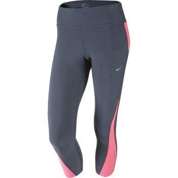 spodnie do biegania damskie 3/4 NIKE RACER CROP / 547603-084