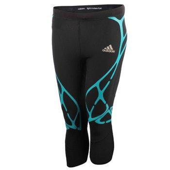 spodnie do biegania damskie ADIDAS ADIZERO SPRINTWEB 3/4 TIGHTS / AI3219