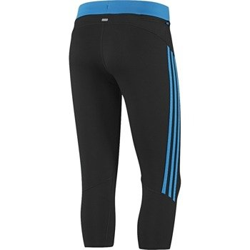 spodnie do biegania damskie ADIDAS RESPONSE 3/4 TIGHT / D79942