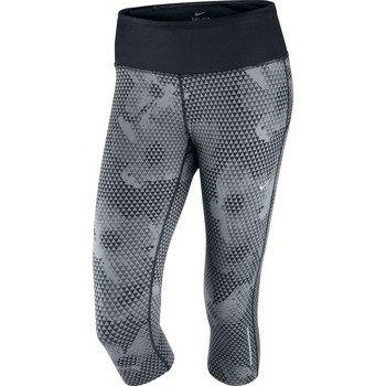 spodnie do biegania damskie NIKE EPIC RUN PRINTED CAPRI / 588681-065