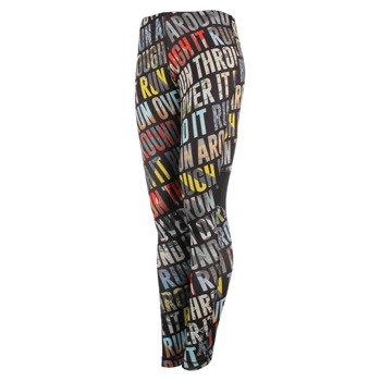 spodnie do biegania damskie REEBOK RUNNING ESSENTIALS TIGHT RUN ALLOVER PRINTED / S94353