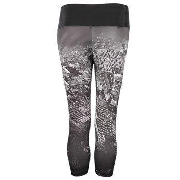 spodnie sportowe damskie 3/4 ADIDAS INFINITE SERIES TECHFIT CAPRI / S16373