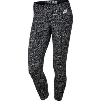 spodnie sportowe damskie 3/4 NIKE LEG-A-SEE CROPPED LEGGING / 777558-010
