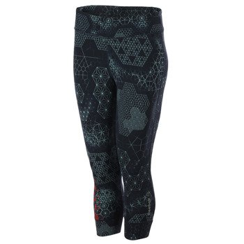 spodnie sportowe damskie 3/4 REEBOK ONE SERIES TATTOO CAPRI / B85660
