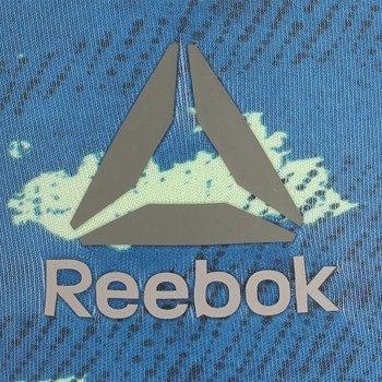 spodnie sportowe damskie 3/4 REEBOK WORKOUT READY PRINTED CAPRI / AP4300