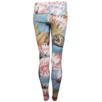 spodnie sportowe damskie ADIDAS CURSO DAGUA 3STRIPES LEGGINGS / S19337