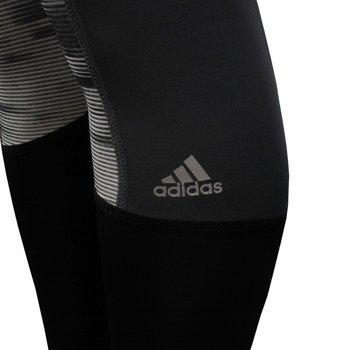 spodnie sportowe damskie ADIDAS TECHFIT LONG TIGHT PRINT / AY5499