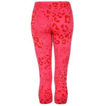 spodnie sportowe damskie ADIDAS ULTIMATE FIT PANT 3/4 TIGHT ALL OVER PRINTED / M68789
