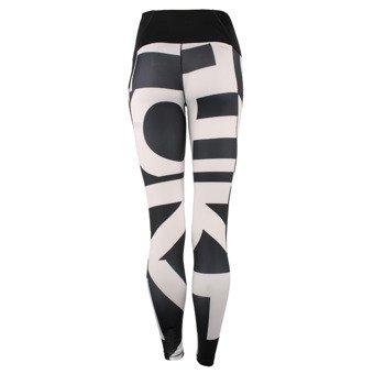 spodnie sportowe damskie ADIDAS WORKOUT HIGH RISE LONG TIGHT / AJ5055