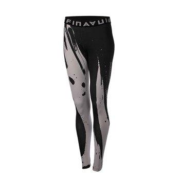 spodnie sportowe damskie ENDORFINA LEGGINS BRYSH BLACK / JZ16-5616