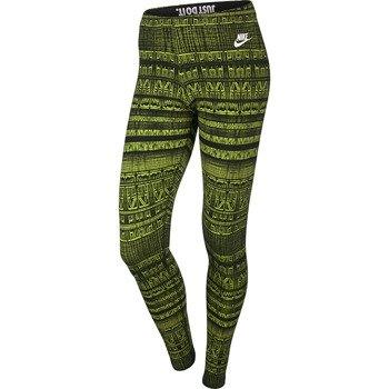 spodnie sportowe damskie NIKE LEG-A-SEE ALLOVER PRINT / 586399-302