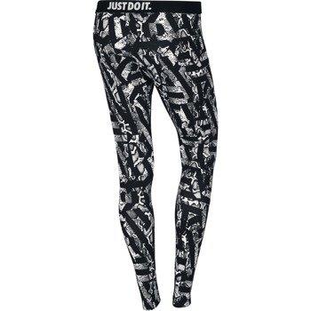 spodnie sportowe damskie NIKE LEG-A-SEE ALLOVER PRINTED / 678836-100