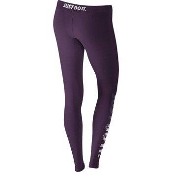 spodnie sportowe damskie NIKE LEG-A-SEE-JUST DO IT METAL / 678858-507