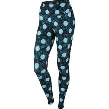 spodnie sportowe damskie NIKE LEGEND SPOTS TIGHT / 749586-407
