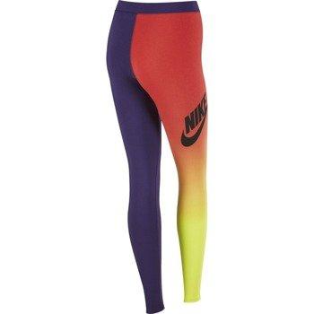 spodnie sportowe damskie NIKE RU PRINTED LEGGIN / 653963-612