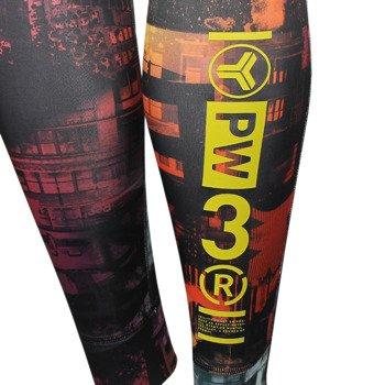 spodnie sportowe damskie REEBOK ONE SERIES CHAOS ADVANTAGE NYLUX LEGGING / AA1489