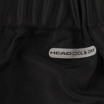 spodnie tenisowe damskie HEAD CLUB CAPRI / 814211-BK