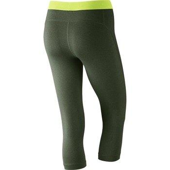 spodnie termoaktywne damskie 3/4 NIKE PRO CAPRI / 589366-384