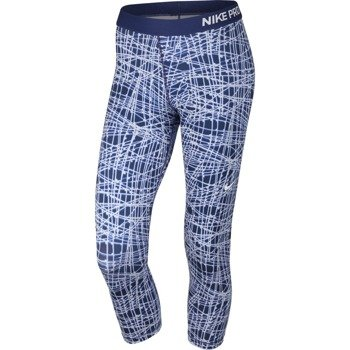 spodnie termoaktywne damskie 3/4 NIKE PRO COOL TRACER CAPRI / 812063-455