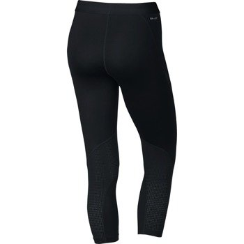 spodnie termoaktywne damskie 3/4 NIKE PRO HYPERCOOL CAPRI EXPLODE LOGO / 803419-011