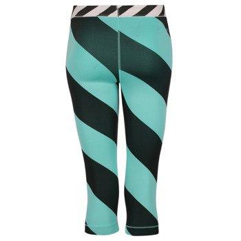 spodnie termoaktywne damskie 3/4 NIKE PRO PRINTED CAPRI / 708281-466