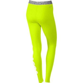 spodnie termoaktywne damskie NIKE PRO HYPERWARM MEZZO WAISTBAND TIGHTS / 640959-702