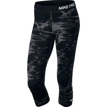 spodnie termoaktywne damskie NIKE PRO POOL CAPRI / 618858-010