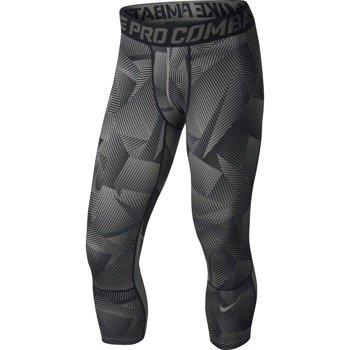 spodnie termoaktywne męskie NIKE PRO COMBAT HYPERCOOL COMPRESSION 3/4 TIGHT / 717304-010