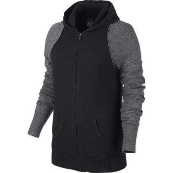sweter tenisowy damski NIKE KNIT SWEATER JACKET / 596714-010