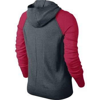 sweter tenisowy damski NIKE KNIT SWEATER JACKET / 596714-084